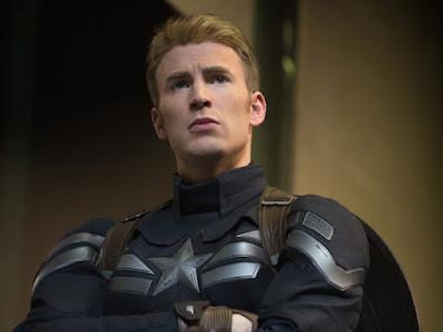 chris evans capitão América marvel super-herói