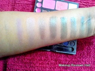 Danni Professional Makeup Eyeshadow Swatches