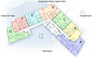 さとうあつこのハワイ不動産 Hokua Floor Plan について