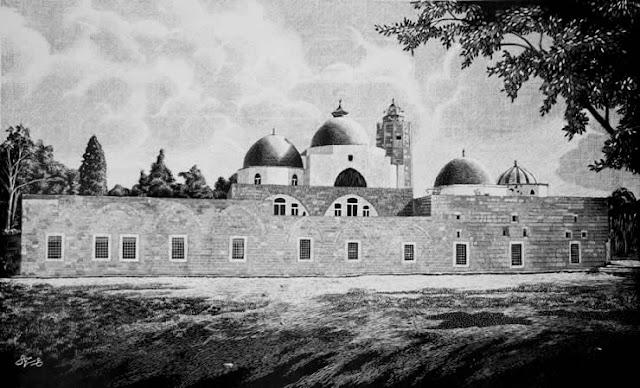 رسمة لجامع طينال
