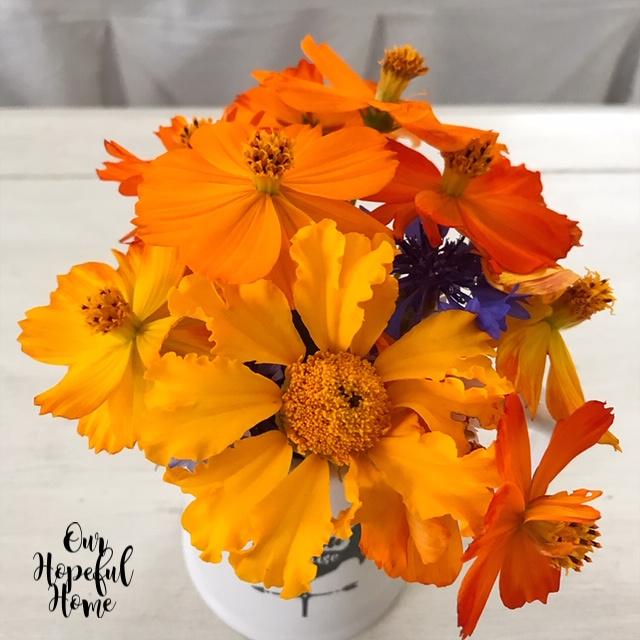 sumer floral bouquet