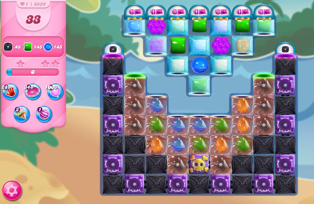 Candy Crush Saga level 8529