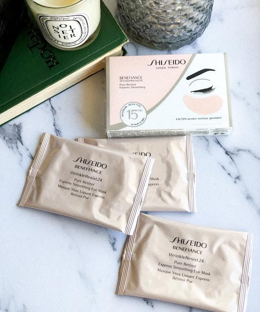 патчи для глаз Shiseido Benefiance WrinkleResist24