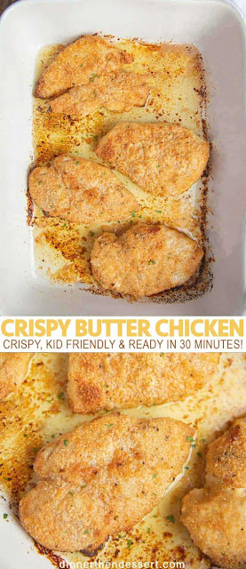 Super Crispy Butter Chicken