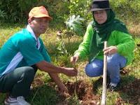 Peringati Hari Bumi, Seribu Bibit Tanaman Ditanam di Kawasan Bukit Suroyudan Blora