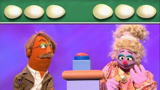Game Show: Are You Smarter Than an Egg Layer? Jeff Bawksworthy, Miriam Cheswick, Sesame Street Episode 4320 Fairy Tale Science Fair season 43