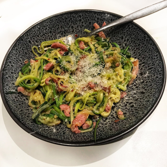 Bacon Courgettini