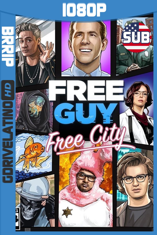 Free Guy: Tomando el Control (2021) BRRip 1080p Subtitulado