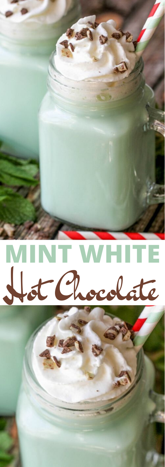 Mint Hot Chocolate #drinks #recipe #hot #beverages #chocolate