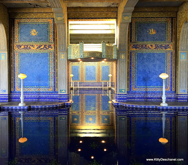 indoor swimming pool hearst castle