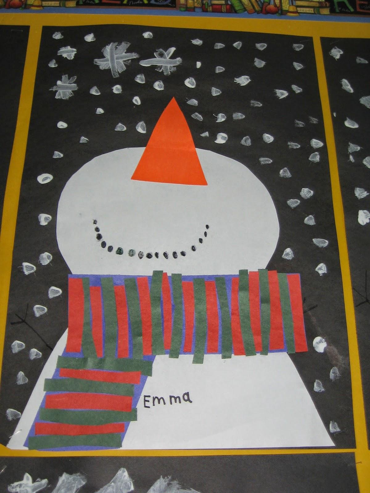 Room 21 Snowmen At Night