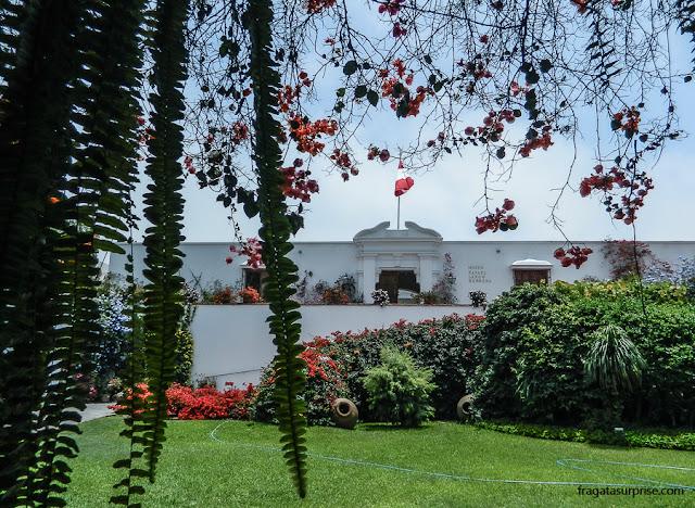 casarão do Século 18, sede do Museu Larco, Lima, Peru