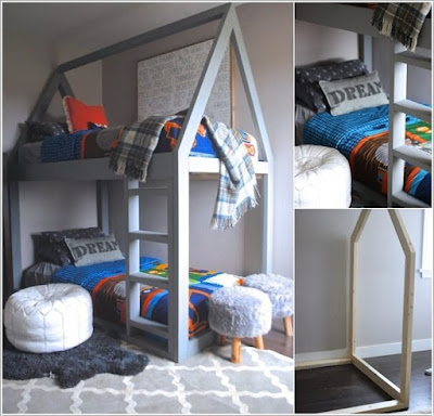 10 Cool DIY Bunk Bed Designs for Kids - Home Interior Designs