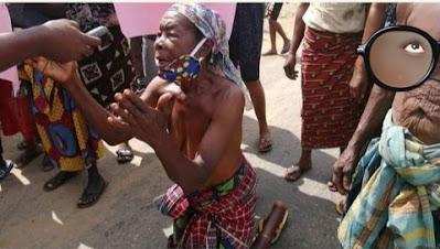 Ogoni Women Bare Bre*sts In Protest Over Demolished Hotel's Owner Detention