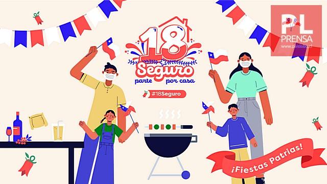 Plan Sanitario para estas Fiestas Patrias en Chile