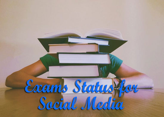 Latest Exams Status and Image Captions for Instagram, Whatsapp and ...