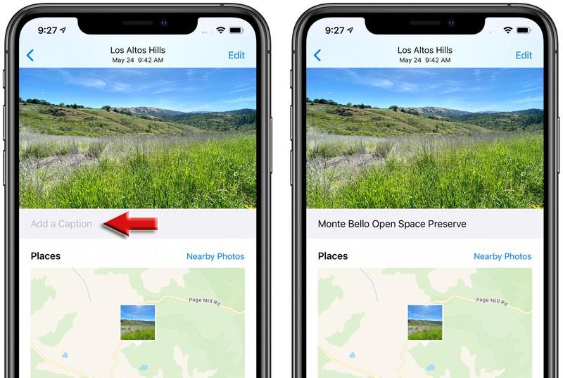 iOS 14 允許為照片自訂標題或描述:方便快速整理搜尋