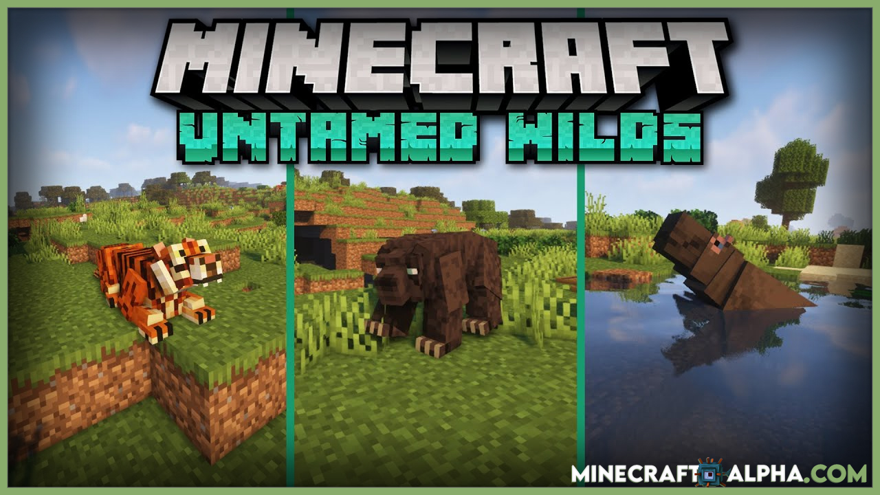 Untamed Wilds Mod 1.16.5 (More Animals)