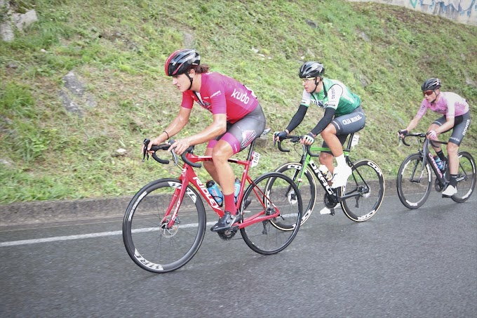 Excepcional actuación del Tenerife BikePoint Pizzería Española en el Memorial Valenciaga
