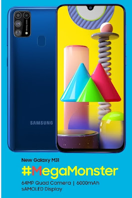 Samsung Galaxy M31 smartphone