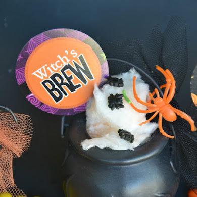 DIY Halloween Mini Chaudron à Bonbon