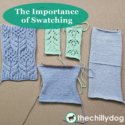 The importance of swatching your knits to ensure success in your knitting