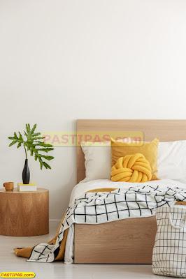 Aplikasikan Warna Biru dan Putih Pada Interior Kamar Tidur Minimalis