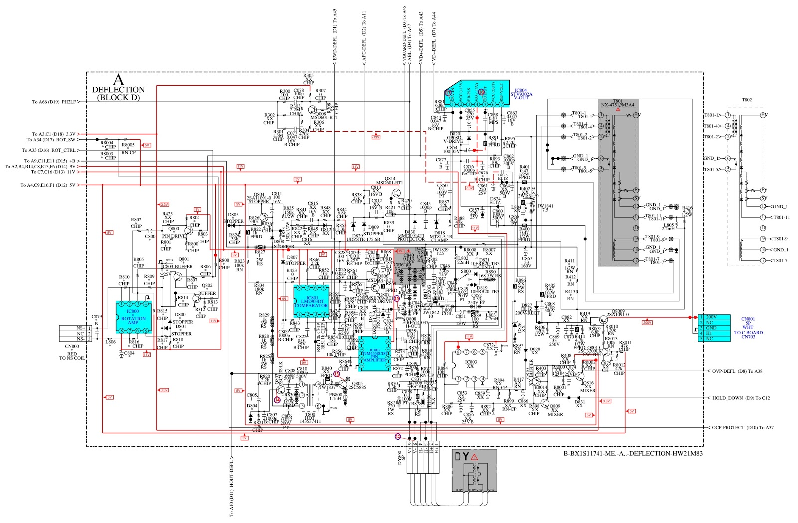 Tv Tuner Card Circuit Diagram Smart Car Alternator Wiring Kv Hw21m50  Sony Trinitron Crt