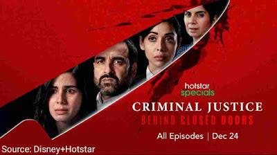 Criminal justice season 2 web series leak by Filmyzilla Filmywap