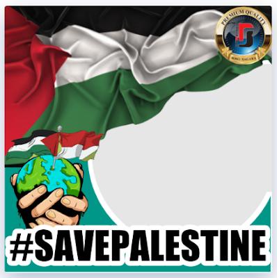 Twibbon Save Palestina 2021