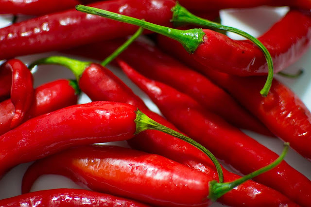 Cayenne is a component of the red hot chilli peppers and can reduce pain