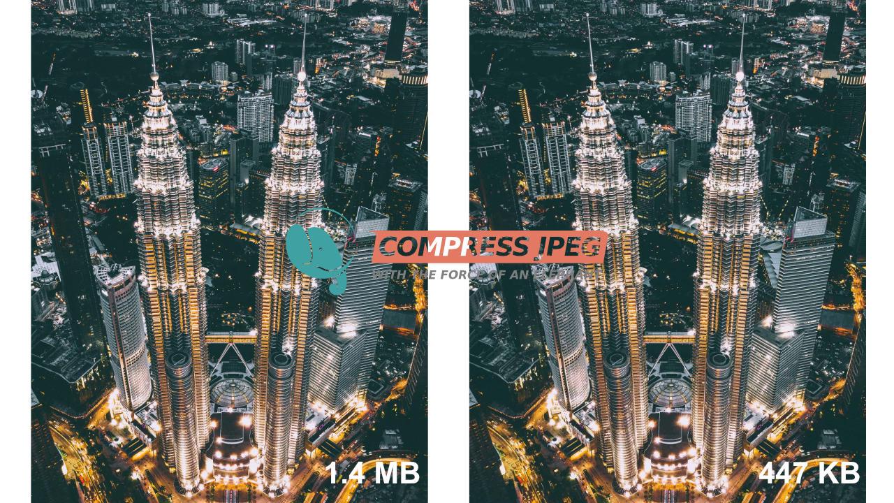 Cara Kecilkan Saiz Gambar JPEG, PNG Dan File PDF Secara Online Dengan Mudah