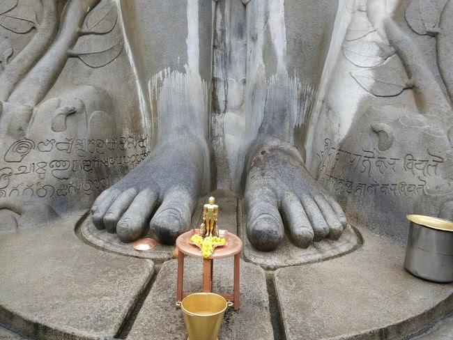 Feet Of Lord Gomateshwara