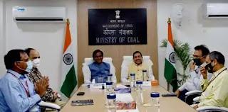 दानवे रावसाहेब दादाराव ने कोयला राज्य मंत्री और खदान राज्य मंत्री का कार्यभार संभाला Danve Raosaheb Dadarao takes over as Minister of State for Coal and Minister of State for Mines