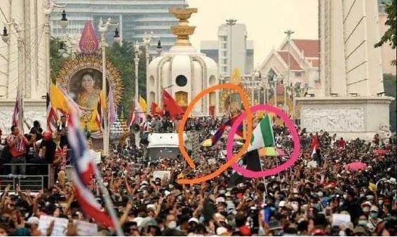 Von Amerika angestoßene Farb-Revolution in Thailand