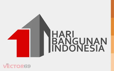 Hari Bangunan Indonesia Logo - Download Vector File AI (Adobe Illustrator)