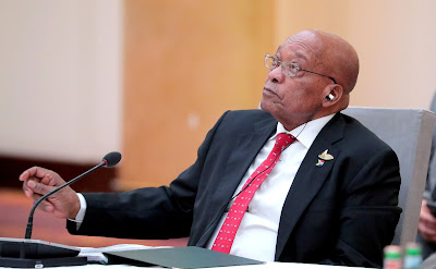 President of South Africa Jacob Zuma at the informal meeting of BRICS heads of state and government.