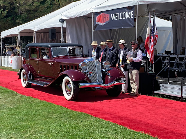 1931 Chrysler Imperial LeBaron wins Best of Show at Hillsborough