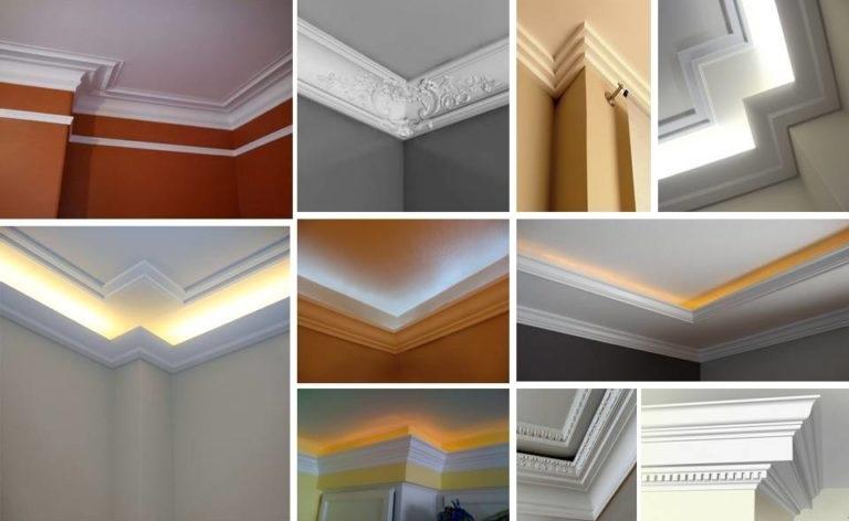 34 ideas de molduras de techo