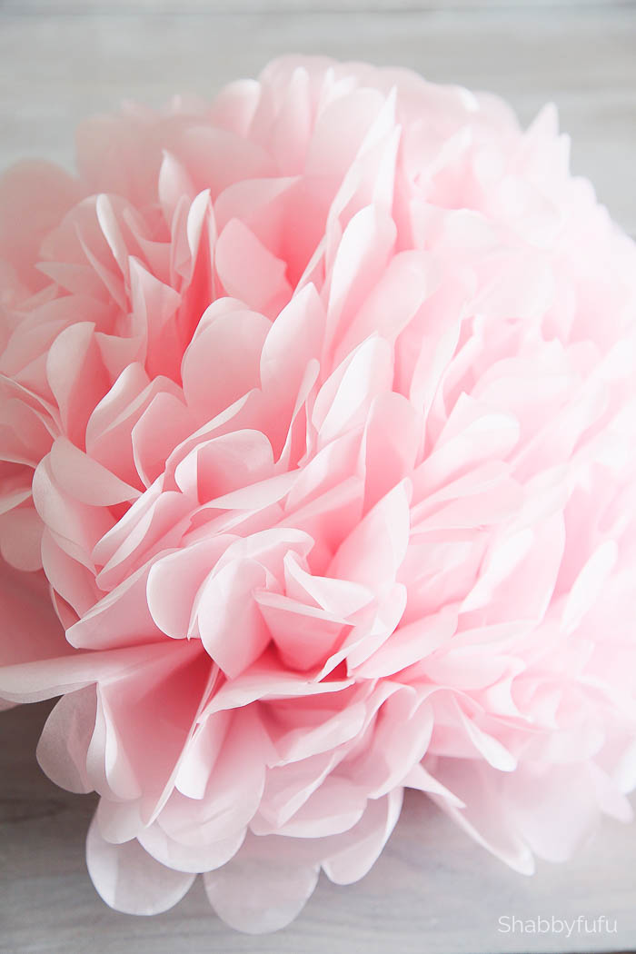 how to make tissue paper pom pom flowers If you're making tissue paper poms in bulk, use this guide to create  these are  one of my go-tos for party decorations, because you get a lot of.