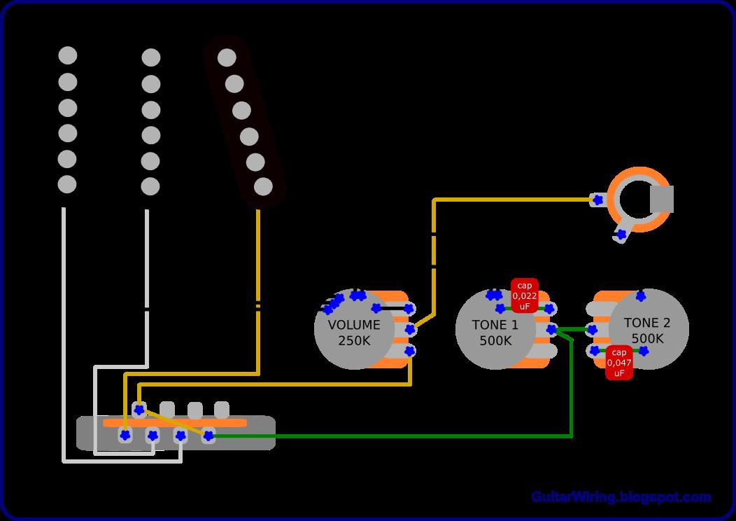 guitar pickups hss wiring diagram