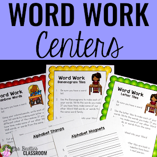 Image of Word Work Centers