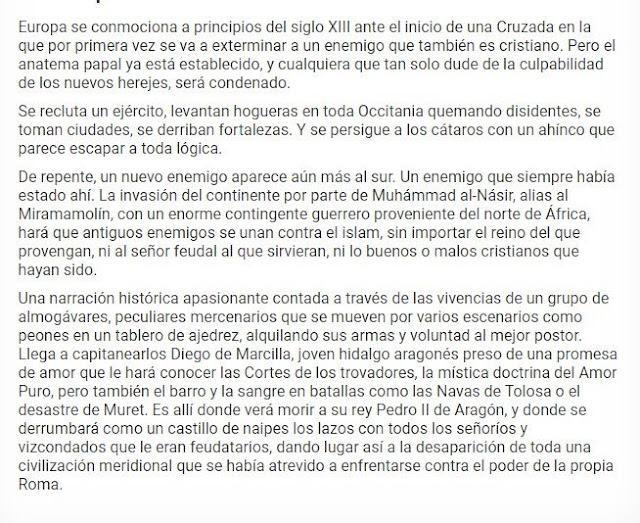 Francisco Oliver Jarque, La promesa del almogávar, extracto