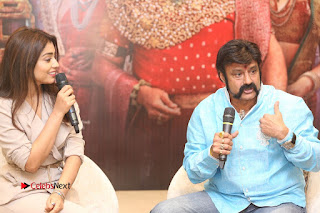 Shriya Saran Nandamuri Balakrishna at Gautamiputra Satakarni Team Press Meet Stills  0174.JPG