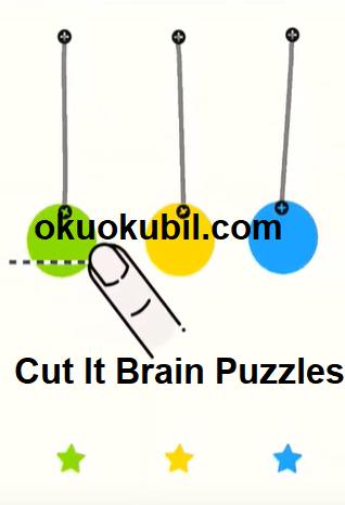 Cut It Brain Puzzles v1.3.11 Zeka Bulmacası İpucu Hileli Mod Apk İndir 2019