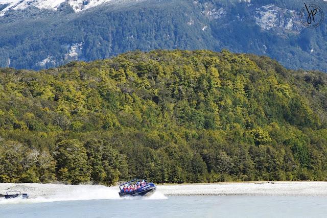 jet boat, river