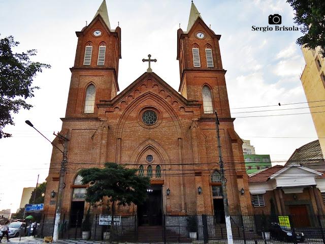 Vista ampla da Paróquia Nossa Senhora da Lapa - Lapa - São Paulo
