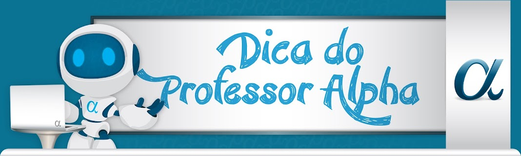 Blog Dica do Professor  Alpha