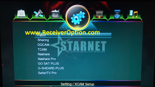 STARNET 1507G 1G 8M NEW SOFTWARE WITH GO SAT PLUS OPTION