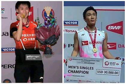 Rekap perjalanan Juara Malaysia Masters 2020